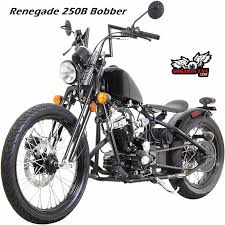 small scale motorcycle renegade 250 heist bobber 250 misfit 250