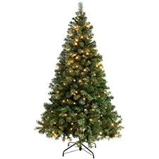 werchristmas pre lit spruce multi function christmas tree with 200