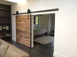 wood interior sliding barn doors