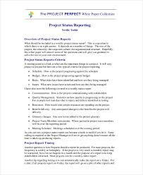 Project Report Format Template Science Project Report Template ...