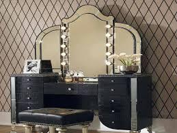 makeup table lighting. Mirrored Makeup Vanity Designs Table Lighting