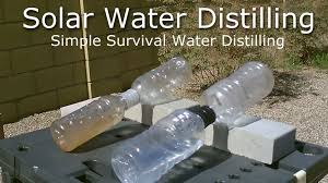 picture of diy solar water distiller simple solar water distilling easy diy
