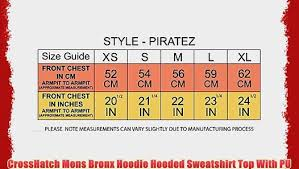 <b>CrossHatch</b> Mens Bronx <b>Hoodie Hooded Sweatshirt</b> Top With PU ...