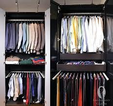 pants rack closet models