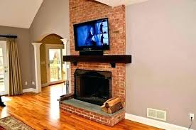 mounting a tv above a fireplace fireplace ideas minimalist best above fireplace ideas on mantle in