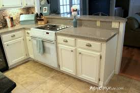 chalk painted kitchen cabinetsNot Until Kitchen Cabinet Makeover Annie Sloan Chalk Paint
