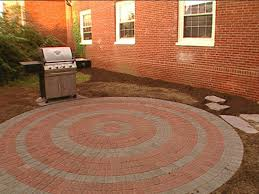 circular patio paver patio brick patios