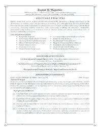 Best Solutions Of School Administrator Resume Examples Best