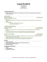 Resume Samples For Students With No Experience Gentileforda Com