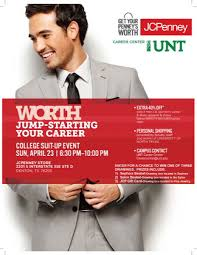 unt career center untcareercenter twitter career dress clothes at least 40% off yes please sunday 6 30pm jcp at golden triangle mall pic com xwjhhndjd8