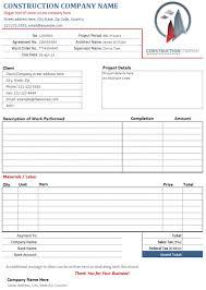 building invoice template info construction contractor invoice template service invoices simple invoice