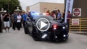 2018 ferrari fxx k evoluzione mule. simple fxx mustang cop car shuts down supercar meet  with 2018 ferrari fxx k evoluzione mule