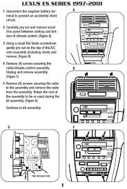 1998 lexus es300 radio wiring diagram 1998 image gallery radio wiring diagram lexus es300 niegcom online on 1998 lexus es300 radio wiring diagram