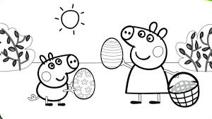 Peppa Pig Printable Coloring Pages For Kids Printable Coloring