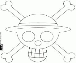 Kleurplaat Logo Van Stro Hoed Piraten Kleurplaten