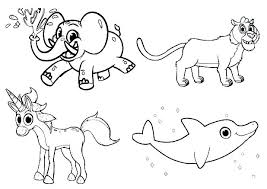Toddler Coloring Pages Animals Free Animal Coloring Sheets For