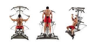 bowflex home gym workouts
