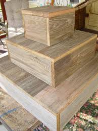 3 tier wood cake stand rustic wedding cupcake box plate barn wood primitive reclaimed marriage vintage wedding country