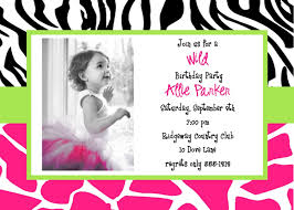 free birthday invitation template for kids luxury birthday invitations cards kids with zebra print background