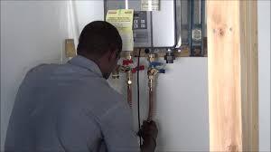 Gas Water Heater Installation Kit Pooles Plumbing Installing An Interior Rinnai Tankless Water