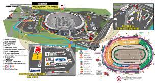 Bristol Motor Speedway Seating Chart Seating Chart Track Maps Fan Info Bristol Motor Speedway