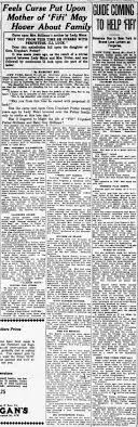 The curse on the family of Cora Urquhart Potter - Newspapers.com