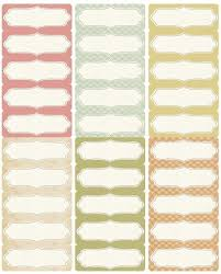 Polaroid Decorative Labels Template Free Address Labels
