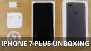 iphone 7 plus black unboxing. iphone 7 plus black unboxing -