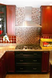 Red Kitchen Tile Backsplash 17 Best Images About Backsplash Behind Stove On Pinterest