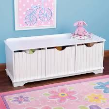 toy storage furniture. childrens storage unit kids toy box bench white pastel furniture