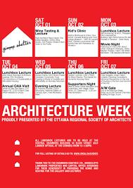 architecture schedule. 2011 architecture schedule