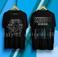 Crazy Shirts Size Chart Best 7789 Scorpions Crazy World Tour 2019 T Shirt Size S 5xl Ebay