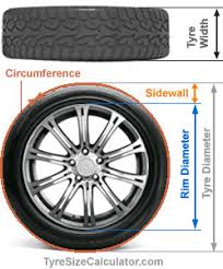Tire Chart Meaning Tire Size Calculator Tire Dimensions Diameter