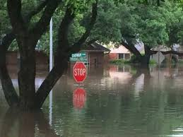meyerland under water