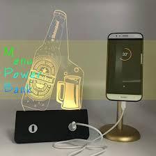 Menu Display Stands Restaurant Cool China 32mAh Power Bank Portable Menu Holder Advertising Display