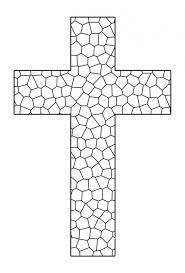 Coloring Pages Crosses Free Printable Cross Coloring Pages Adult