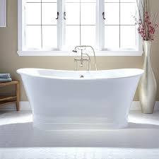 cast iron skirted tub freestanding bath 60 bathtub master bathroom