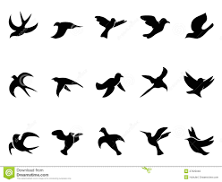 bird in flight silhouette vector. Brilliant Bird Simple Bird S Flying Silhouettes Intended Bird In Flight Silhouette Vector G