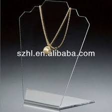 Acrylic Necklace Display Stands Stunning Customized Acrylic Display Stand Acrylic Body Jewelry Display