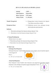 Diagram Venn Gabungan Rencana Pelaksanaan Pembelajaran Rpp