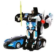 <b>Радиоуправляемый трансформер MZ</b> Bugatti Veyron Blue 1:22 ...