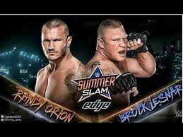 wwe summerslam 2016 randy orton vs brock lesnar confirmed wwe official 2016