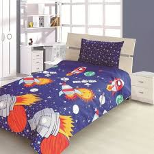 boys double bed. Fine Boys Childrenu0027s Kids DOUBLE BED SIZE ROCKET DESIGN BOYS DUVET COVER AND  PILLOWCASE SET By Viceroybedding Amazoncouk Kitchen U0026 Home Intended Boys Double Bed U