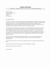 Cover Letter Sample For Resume Unique Resume Examples Templates