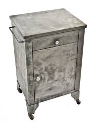 vtg 1940 50s simmons furniture metal medical. Reinforced American Medical Cold-rolled Steel Stationary Hospital Supply Cabinet With Single Drawer And Vtg 1940 50s Simmons Furniture Metal