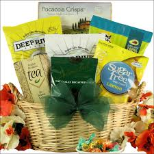 simply sugar free small gourmet gift basket