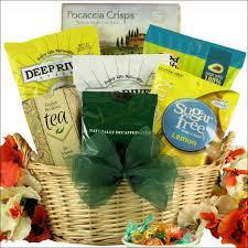 simply sugar free small gourmet gift basket