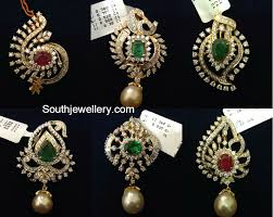 small diamond pendants for mangalsutra chains