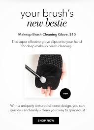 your brush s new bestie makeup brush cleaning glove 10