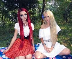 human barbie body before and after. human barbie valeria lukyanova\u0027s friend anastasiya shpagina is a anime; before after pictures, makeup tutorial [photos, video] body and
